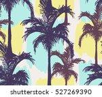 beautiful seamless vector... | Shutterstock .eps vector #527269390