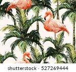 beautiful seamless vector... | Shutterstock .eps vector #527269444