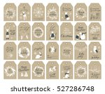 vector big collection of hand... | Shutterstock .eps vector #527286748