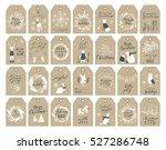 vector big collection of hand... | Shutterstock .eps vector #527286748