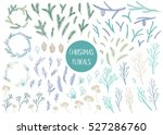 vector hand drawn big... | Shutterstock .eps vector #527286760