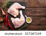 chicken legs | Shutterstock . vector #527287249