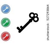 web icon. key | Shutterstock .eps vector #527293864