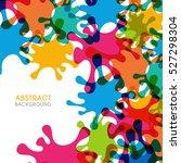 illustration of splash abstract ...   Shutterstock .eps vector #527298304