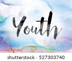 """the word """"youth"""" painted in... 