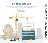 building process. web... | Shutterstock .eps vector #527306470