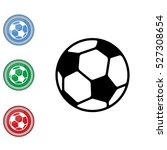 web icon. football | Shutterstock .eps vector #527308654
