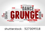 grunge. word cloud  type font ... | Shutterstock .eps vector #527309518