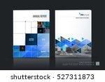 business vector set. brochure... | Shutterstock .eps vector #527311873
