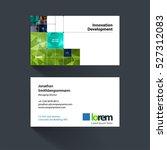 vector business card template...   Shutterstock .eps vector #527312083