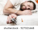 sleep apnea diagnostic medical... | Shutterstock . vector #527321668