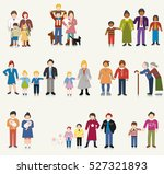 family units | Shutterstock .eps vector #527321893