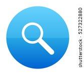 search blue vector icon