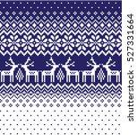 new year's christmas pattern... | Shutterstock .eps vector #527331664