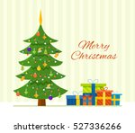 merry christmas. the atmosphere ... | Shutterstock .eps vector #527336266