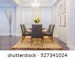 modern dining room in luxury... | Shutterstock . vector #527341024