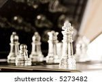glass chess   laptop | Shutterstock . vector #5273482