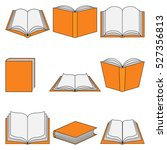 book icon education | Shutterstock . vector #527356813