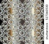 luxury baroque damask floral...   Shutterstock .eps vector #527360530