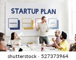 start up business strategy... | Shutterstock . vector #527373964