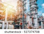 industrial zone the equipment... | Shutterstock . vector #527374708