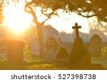 Morning Light On Graves In A...