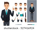 businessman character design | Shutterstock .eps vector #527416924