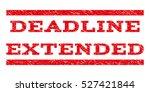 deadline extended watermark... | Shutterstock .eps vector #527421844