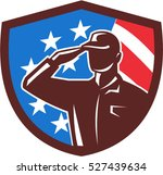 illustration of an american... | Shutterstock .eps vector #527439634