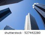 skyscraper at tokyo shinzyuku | Shutterstock . vector #527442280