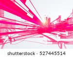 abstract graphic design  a... | Shutterstock .eps vector #527445514