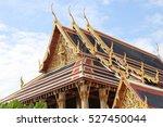 wat phra kaew bangkok thailand | Shutterstock . vector #527450044