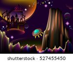 illustration of fairyland...   Shutterstock .eps vector #527455450