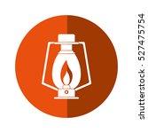 lamp kerosene old lantern...   Shutterstock .eps vector #527475754