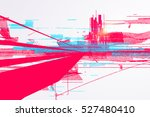 abstract graphic design  a... | Shutterstock .eps vector #527480410