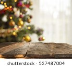 Christmas Table Background Wit...