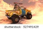 3d cg rendering of a pickup... | Shutterstock . vector #527491429