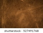 old brown leather background. | Shutterstock . vector #527491768