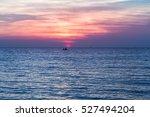 beautiful naturally seascape... | Shutterstock . vector #527494204
