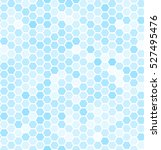 Blue Seamless Hexagonal Patter...