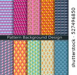 collection pattern  retro... | Shutterstock .eps vector #527496850