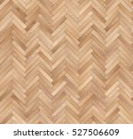 Stock photo herringbone natural parquet seamless floor texture 527506609