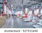 blurred warehouse or storehouse ... | Shutterstock . vector #527511640