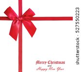 christmas   new year's greeting ... | Shutterstock . vector #527550223