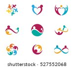 adoption and community care logo   Shutterstock .eps vector #527552068