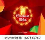 vector happy new year design  ... | Shutterstock .eps vector #527556760