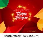 vector happy new year design  ... | Shutterstock .eps vector #527556874