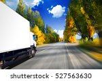 the road in north mountains | Shutterstock . vector #527563630