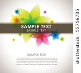 abstract colorful template 02 | Shutterstock .eps vector #52756735