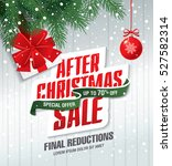 after christmas sale banner | Shutterstock .eps vector #527582314